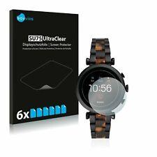 Fossil Sloan HR (4.Gen)  Watch,  6 x Transparent ULTRA Clear Screen Protector