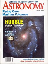 Astronomy Magazine April 1994, Hubble Better Than New, Asteroid Ida