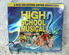 High School Musical 2 Disney 2-Disc Collectors Edition Soundtrack CD & DVD