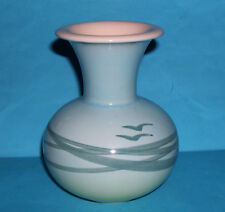 Deco Helsingborg Art Pottery Sweden - Vintage 'Abstract Sea & Birds Theme' Vase.