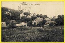 cpa 76 - BERNEVAL le GRAND (Seine Maritime) Les VILLAS Cachet 1929
