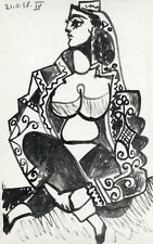 Pablo Picasso lithograph, printed by Mourlot RARE 78786787