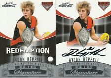 2012 Select Last# 200 Eternity Medal Winners Signature Redemption MWS3 Heppell