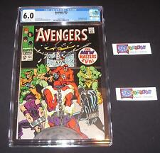 Avengers #54CGC 6.0 from 19681st appearance of theNew Masters of Evil