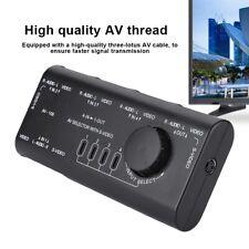 AV-109 4 In 1 Out AV RCA Hub Switch Box AV Audio Video Switcher 4 Way Splitter