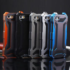 Waterproof Shockproof Aluminum Gorilla Glass Metal Case Cover For iPhone Models