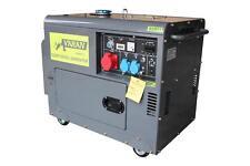 STROMERZEUGER NOTSTROMAGGREGAT GENERATOR 5,5kVA 400V/230V DIESEL + ATS & BAT