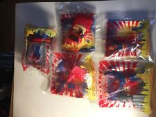 1997 Burger King SUPERMAN Set of 5 figurines  CANADIAN Edition  NEW Sealed.