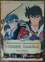 Yamato Video-I 5 Samurai Oav Box dvd vol.1-Box +1°OAV dvd versione Italia Nuovo