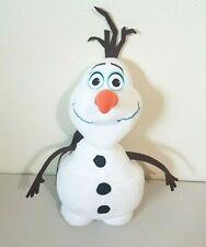 """Disney Frozen OLAF Backpack Plush w/Small Back Pocket Adjustable Straps 16"""""""