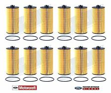 6.0L & 6.4L Powerstroke Genuine Ford Motorcraft OEM Oil Filter FL-2016 - Qty 12