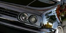 VW Golf MK3 Smoked Hella Style Dark Double Projector Euro HEADLIGHTS GTi MK 3