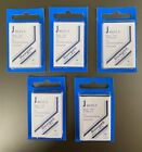 5 Packs of Showgard Stamp Mounts J 40/25 - FREE USA SHIPPING - each pack has 40