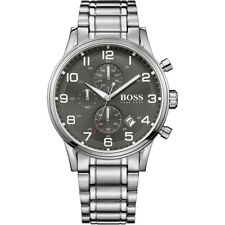Mens Hugo Boss Aeroliner Chronograph Watch 1513181 Genuine &