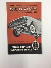 1960 FORD FALCON BODY & SUSPENSION SERVICE SHOP MANUAL / BOOKLET ORIGINAL BOOK