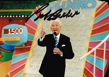 Bob Barker Hand Signed Autograph Photo  Price is Right Host  Animal Activist