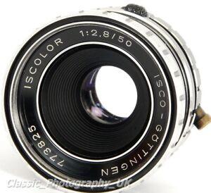 ISCO-Gottingen ISCOLOR 1:2.8/50mm SHARP Lens M42 Mount + Canon EOS MICRO 4/3 etc