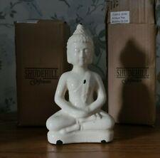 ShudeHill Antique finish ceramic thai buddah, sit Statue Ornament, New