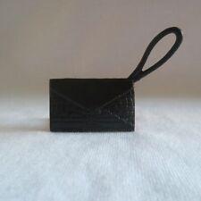 NEW Barbie Fashionista Doll Flat Black Handbag Bag Purse Clutch Accessory