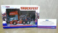 Corgi CC13702 diecast 1/50 Truckfest Scania R Garn Transport Ltd Ed 0002/2268