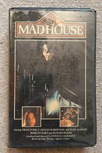 Madhouse. Medusa Pre Cert DPP Video Nasty VHS Tape Ex Rental. Big Clamshell Box