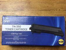 NEW Onn TN-350 Toner Cartridge Laser Printer Brother DCP-7010, 7020