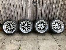 Hartge Split Rim Alloy Wheels, set of 4 PLUS wheel caps (17 X 8.5j ET13 5x120)