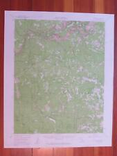 Yosemite California 1961 Original Vintage USGS Topo Map