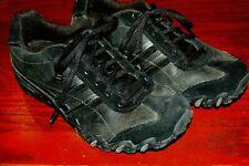 Skechers Women's Shoes Size 7.5 black tennis shoe lace up NEAT EUC dress 7 1/2