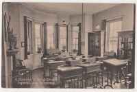 A Classroom St. Marys Convent Englands Lane Hampstead London 1928 Postcard, B740
