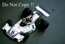 Carlos Pace Brabham BT44B de Martini Racing Monaco Grand Prix 1975 fotografía 1