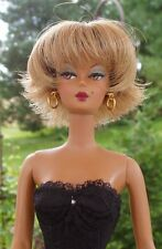 WIG  size 4  Fits Barbie and Barbie size dolls by Monique CLAIRE Blonde/Brown  *