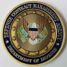 DoD Department of Defense Contract Management Agency FCS Commander Coin