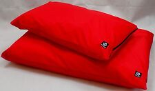 "Heavy Duty Large Red Waterproof Dog Bed ""Easy Clean"""