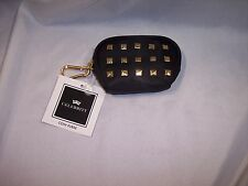 Celebrity Zipered Coin Purse, Black