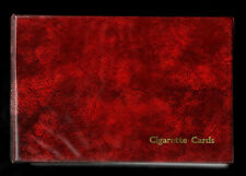More details for quality cigarette card collectors album with 15 complete sets 623 cards in total