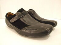 Natural Soul By Naturalizer Women's Size 7.5 Shoes Black Leather Loafers
