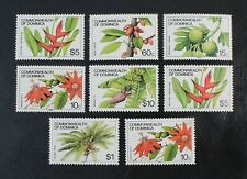 Ckstamps: Gb Stamps Collection Dominica Scott#721a-733a 721b-732b Mint Nh Og