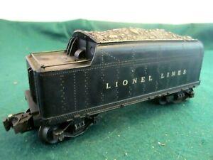 Lionel postwar  2466W Vintage O gauge  Whistling Tender