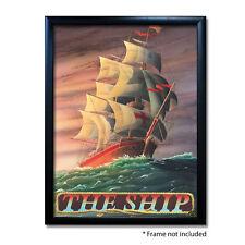 SHIP PUB SIGN POSTER PRINT | Home Bar | Man Cave | Pub Memorabilia