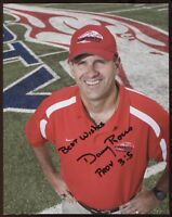 Danny Rocco Signed 8x10 Photo College NCAA Football Coach Autograph Liberty