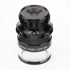 Peak 2044 Zoom Loupe Measuring Magnifier, 8x-16x with 0.1mm Scale