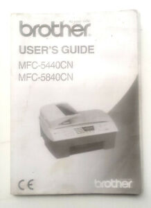 Brother MFC-5440CN All-In-One Printer Fax Photocopy Scan Inkjet User Manual