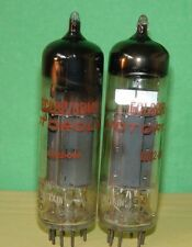 Pair Motorola Mullard  ECL82 6BM8 Vacuum Tubes 5250/1740 4680/1790