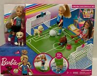 New Barbie Chelsea Doll With Soccer Playset Club Chelsea Doll Playset