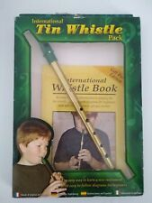 Vintage Tin Whistle Instruction Book: English, French, German, Spanish, Italian