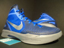 NIKE ZOOM HYPERDUNK 2011 SUPREME TREASURE BLUE ROYAL SILVER GREY 469776-400 10.5