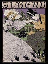 ART PRINT POSTER MAGAZINE COVER JUGEND GERMANY ROMANCE KISS MAN WOMAN NOFL0650