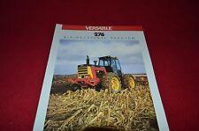 Versatile Designation 276 Tractor Dealer's Brochure AMIL4