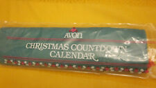 Avon Countdown to Christmas fabric advent calendar NOS w/mouse sealed NEW 1987